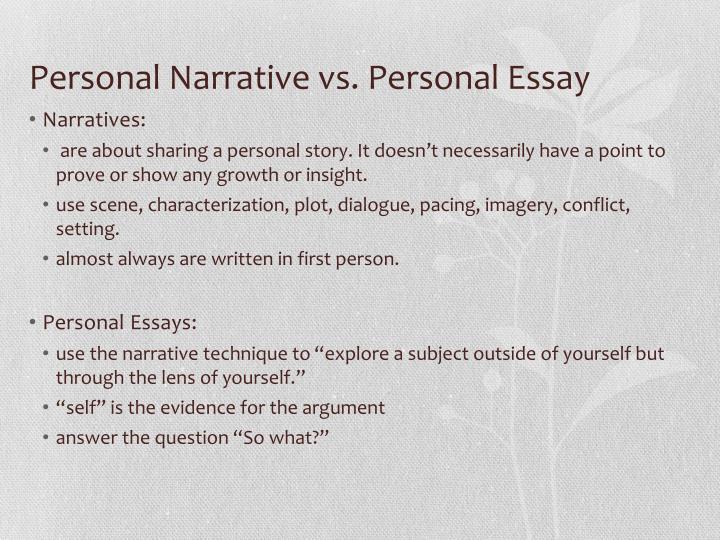 essay narrative examples