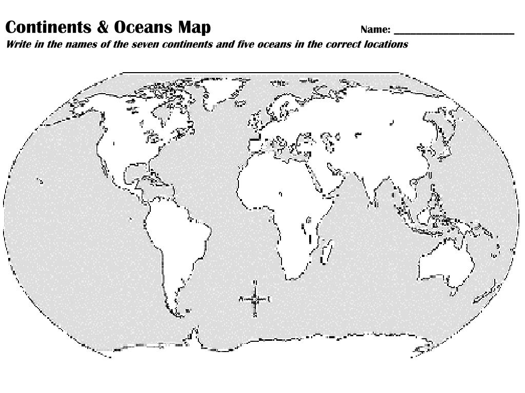 hight resolution of 32 Label The Continents And Oceans Worksheet - Labels Database 2020