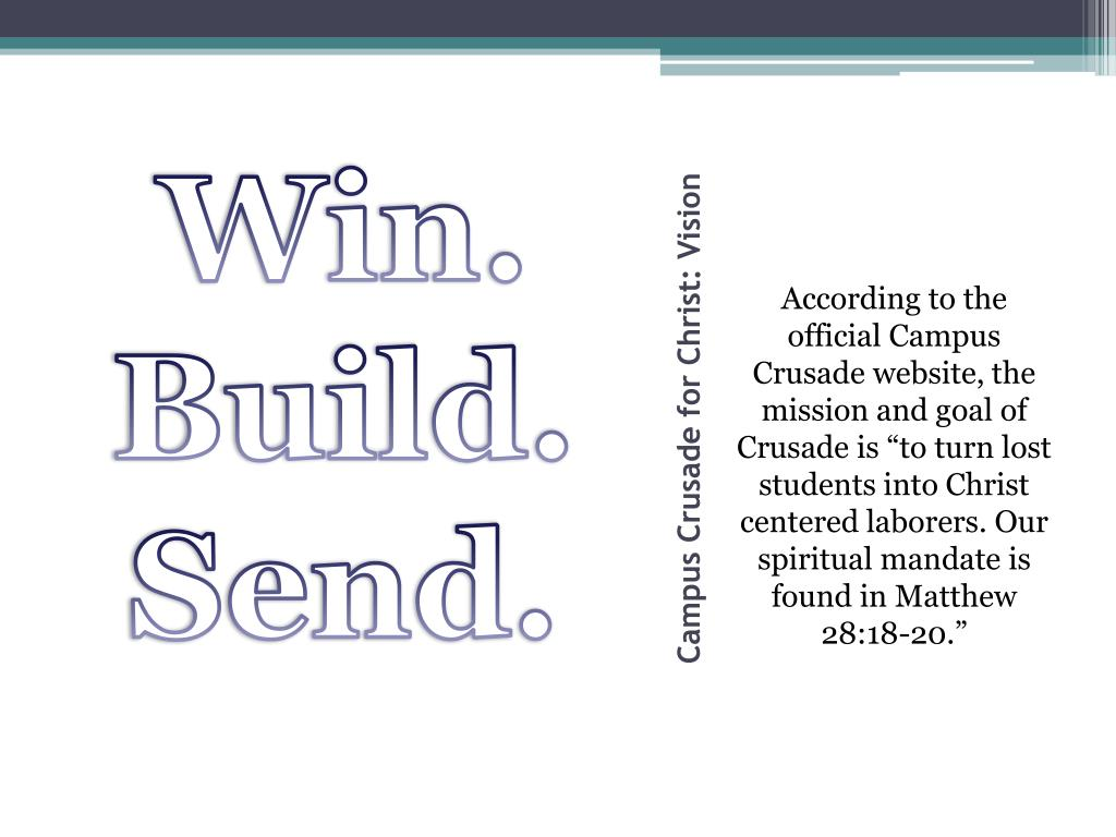 PPT - Campus Crusade for Christ PowerPoint Presentation. free download - ID:2848463
