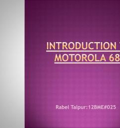 introduction to motorola 6800 n  [ 1024 x 768 Pixel ]