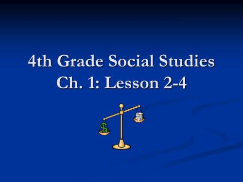 small resolution of PPT - 4th Grade Social Studies Ch. 1: Lesson 2-4 PowerPoint Presentation -  ID:2916458