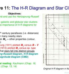 lecture 11 the h r diagram and star clusters n  [ 1024 x 768 Pixel ]