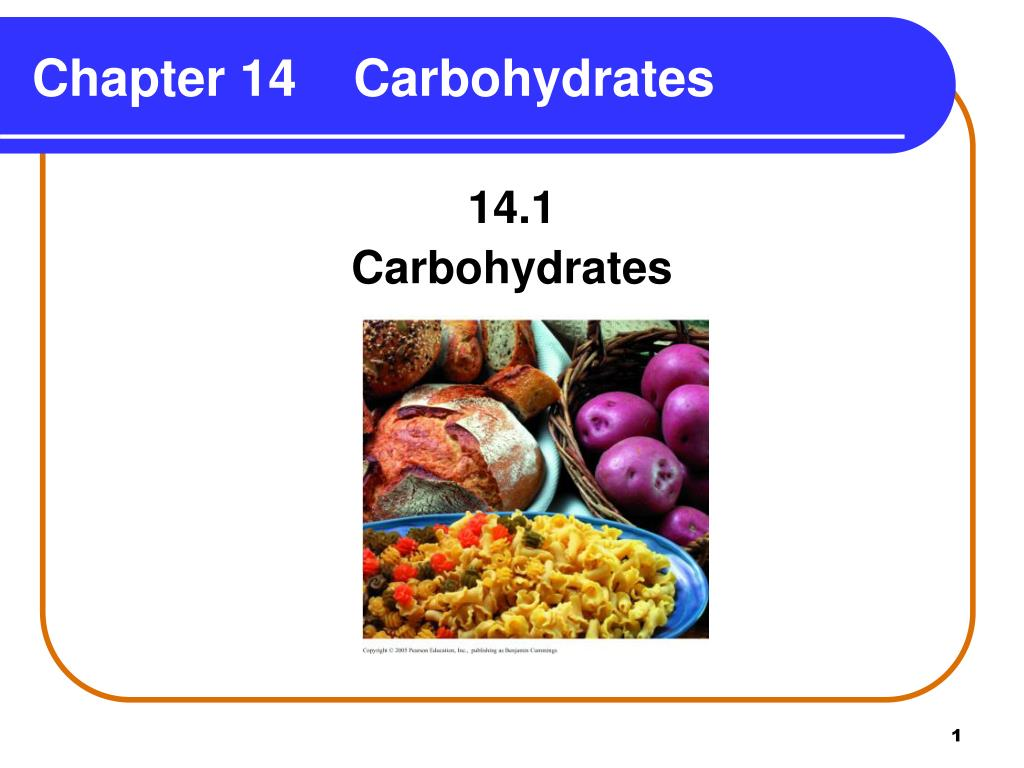 PPT - Chapter 14 Carbohydrates PowerPoint Presentation ...