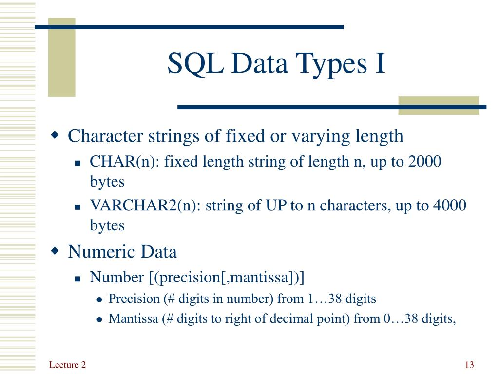 PPT - Lecture 1: SQL: DDL & DML PowerPoint Presentation. free download - ID:3026578