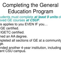 PPT - General Education Advisement for Transfer Students New Student  Orientation PowerPoint Presentation - ID:3041185 [ 768 x 1024 Pixel ]