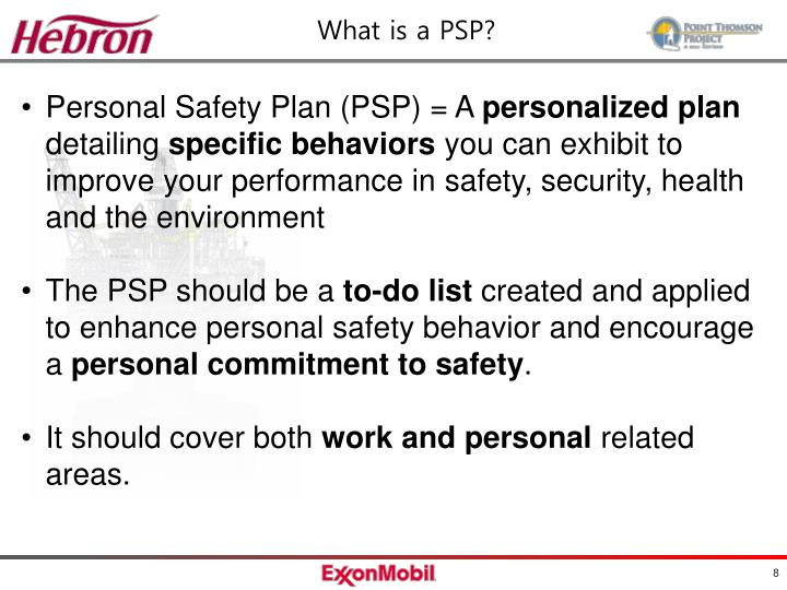 PPT - Personal Safety Plan PowerPoint Presentation - ID:3059481