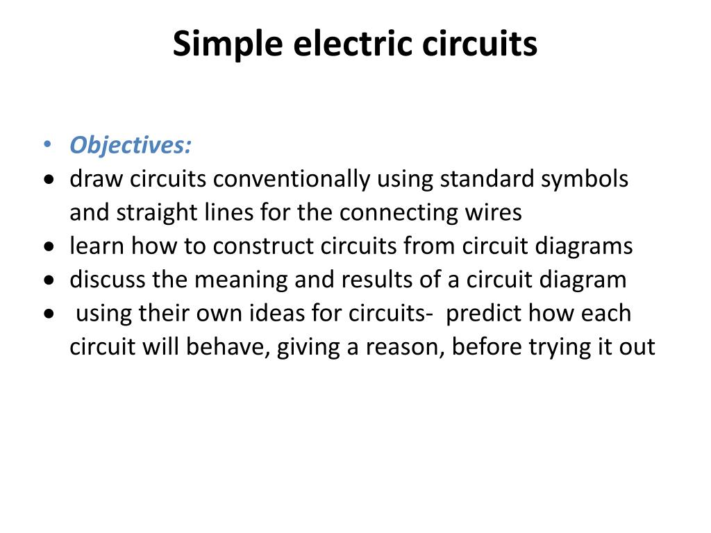 hight resolution of simple electric circuits powerpoint ppt presentation