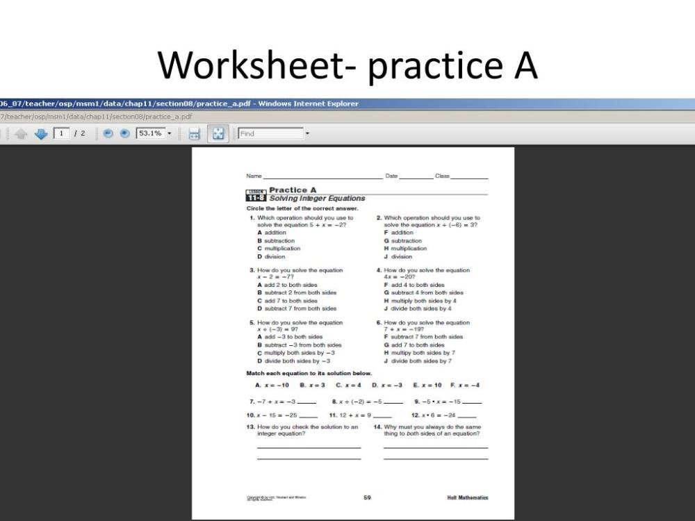 medium resolution of PPT - Online Math Book- 6