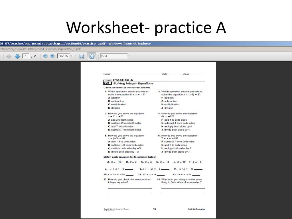 hight resolution of PPT - Online Math Book- 6