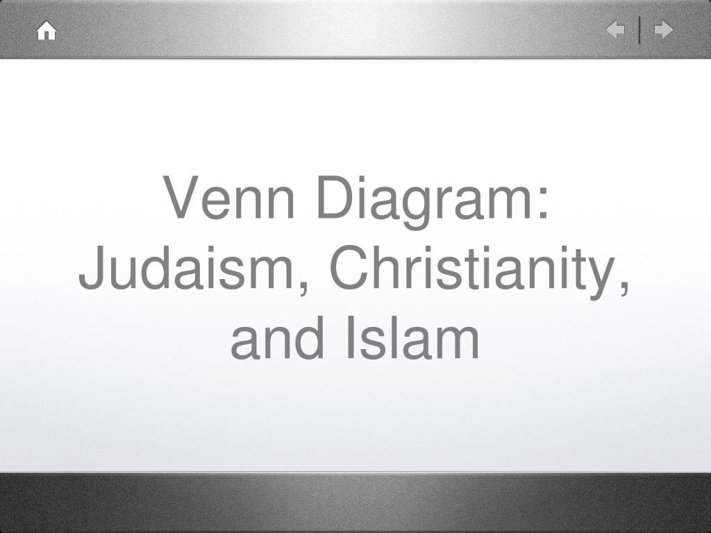 judaism hinduism venn diagram 87 yamaha warrior 350 wiring ppt christianity and islam powerpoint n
