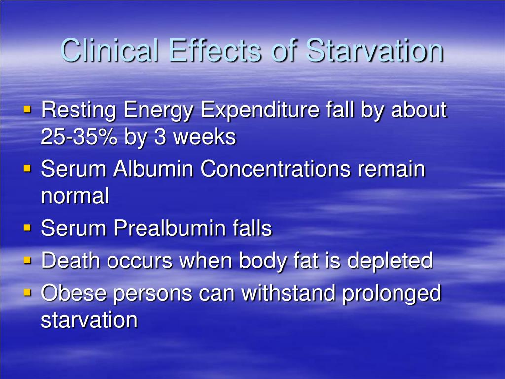 PPT - Malnutrition Starvation and Refeeding Syndrome ...