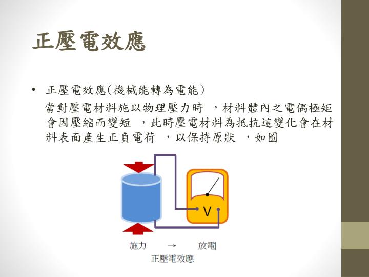PPT - 壓 電材料 PowerPoint Presentation - ID:3161584
