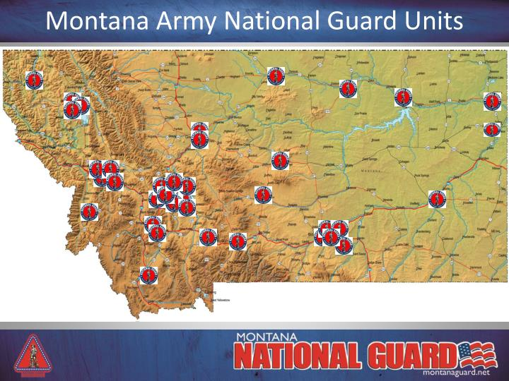 PPT  The Montana Army National Guard PowerPoint