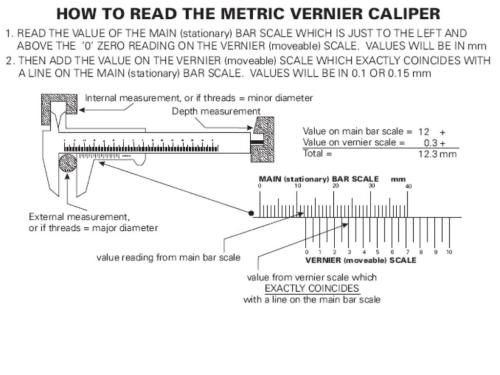 small resolution of how to read vernier caliper