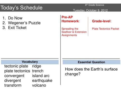small resolution of PPT - 8 th Grade Science PowerPoint Presentation