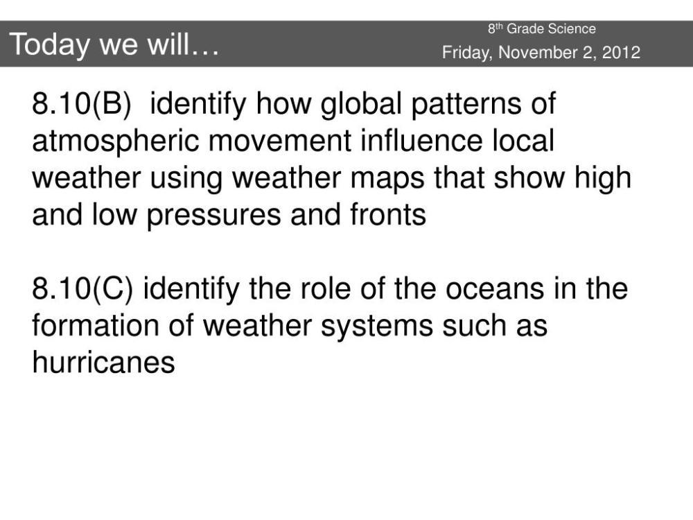 medium resolution of PPT - 8 th Grade Science PowerPoint Presentation