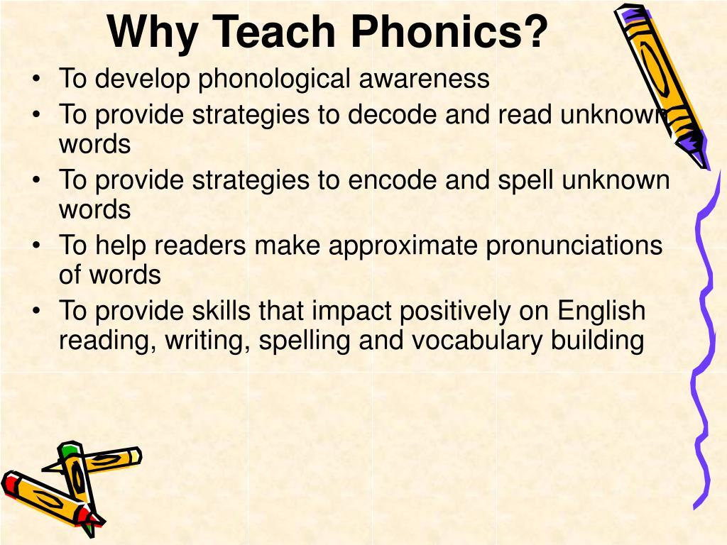 Teach Child How To Read Strategies To Teach Phonics