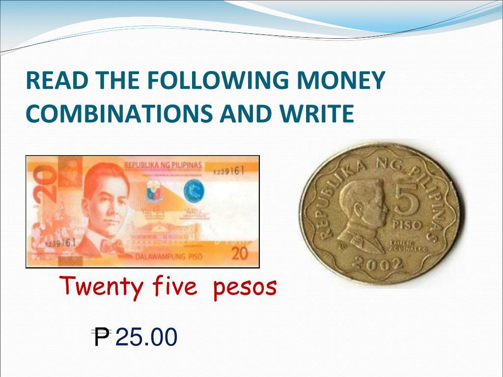 hight resolution of PPT - READING \u0026 WRITING MONEY VALUES THROUGH P1000 PowerPoint Presentation  - ID:3348275