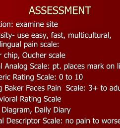 assessment location examine site intensity use easy fast multicultural multilingual pain scale poker chip oucher scale visual analog scale  [ 1024 x 768 Pixel ]