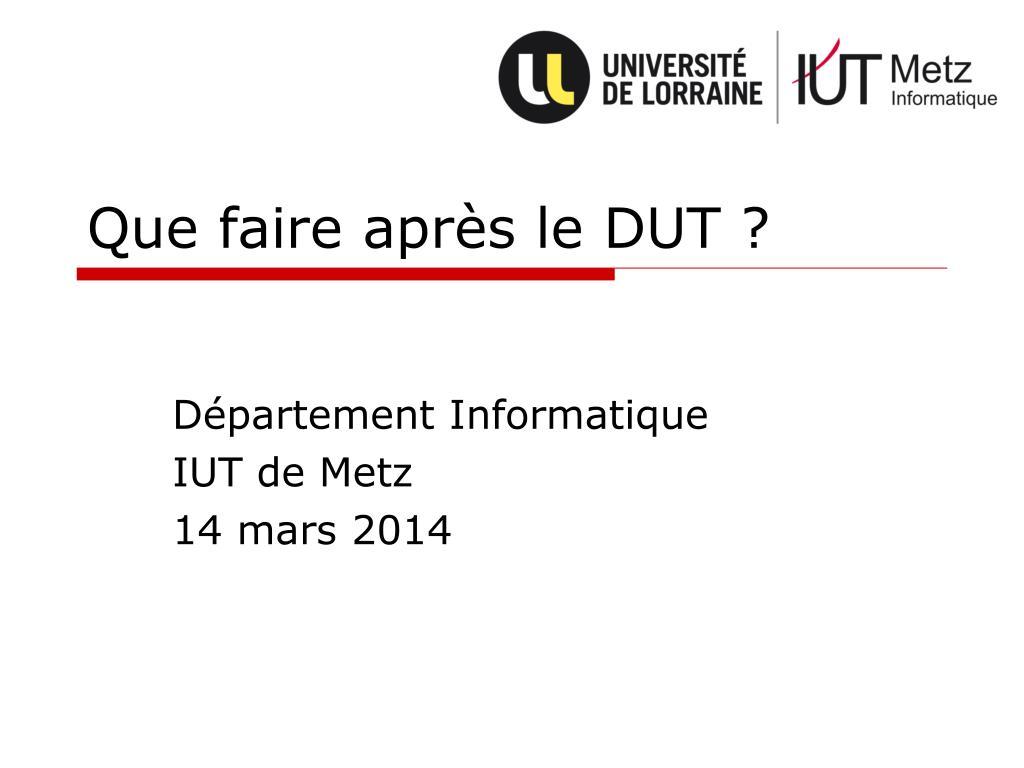 dut powerpoint presentation