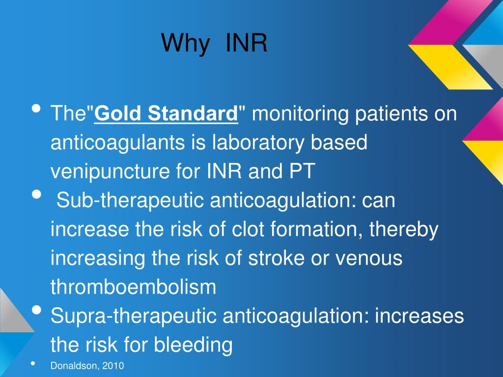 PPT - Point of Care for INR PowerPoint Presentation free ...