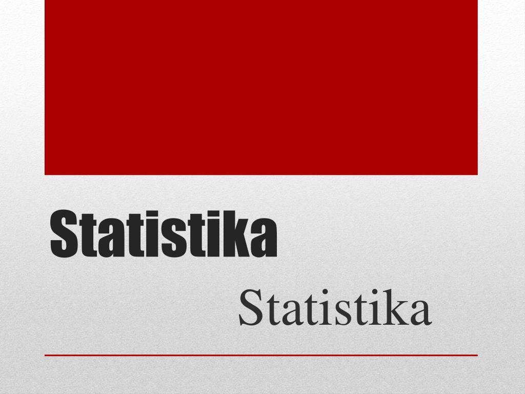 Pelajaran, soal, & rumus statistika. Ppt Statistika Powerpoint Presentation Free Download Id 3465173