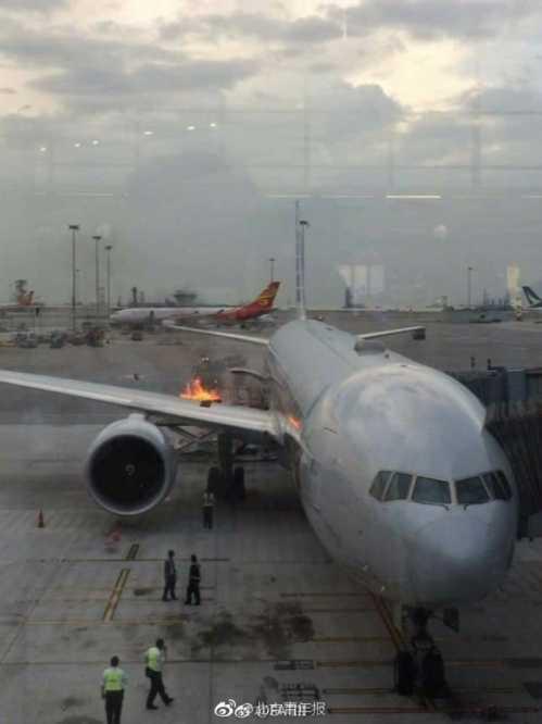 香港火災 美航班在香港機場裝載貨物時發生火災 - 歷史 - 寧波通達娛樂網