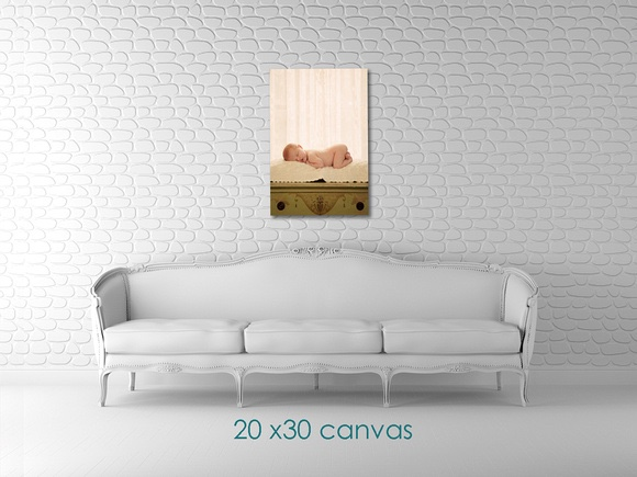 20x30 canvas wrap allyson