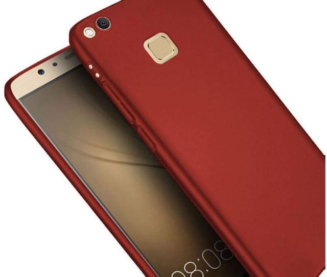 Pedea Hybrid Hardcase Fur Huawei P Lite Rot