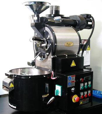 Export Tkmsx 1Kg Gas Coffee Roaster Machine from Indonesia