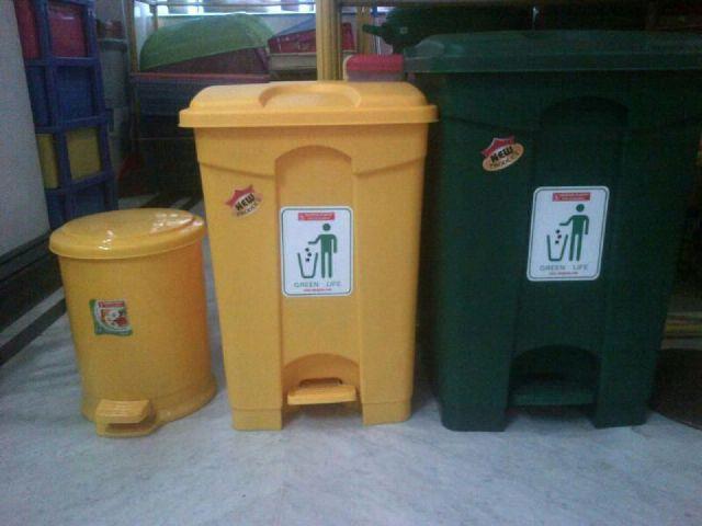 Jual Tong Tempat Sampah Plastik Pedal Injak Kamar Rumah