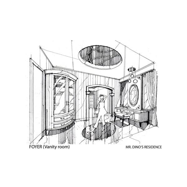 anjarsitek in sketches Services by Anjarsitek