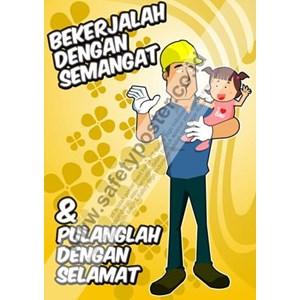 Jual Poster Kesehatan Dan Keselamatan Kerja Harga Murah