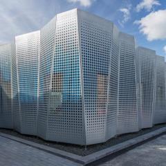 Daftar Harga Baja Ringan Kencana Jual Perforated Facade Wall Panel Murah Bekasi Oleh ...