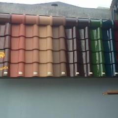 Harga Atap Baja Ringan Dan Genteng Beton Jual Keramik Berglazur Kanmuri Tipe Milenio ...