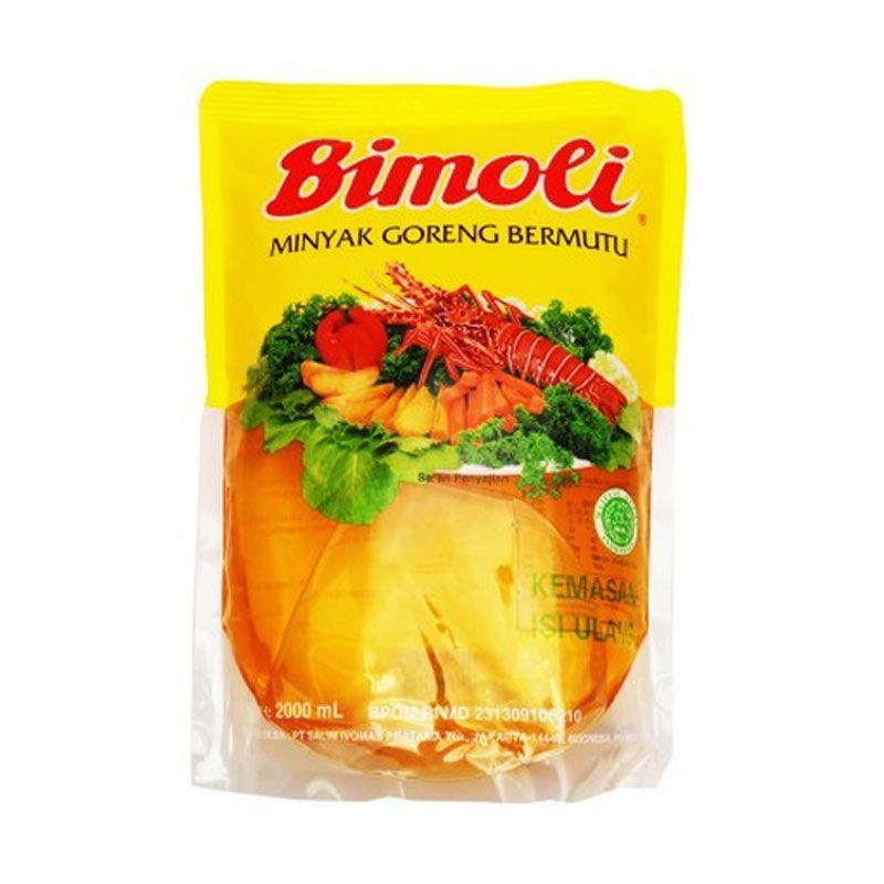 Jual Bimoli Minyak Goreng 2 Liter Pouch Harga Murah Kota