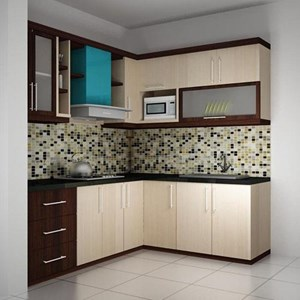 kitchen set chandelier over island sell hpl from indonesia by renovasi medan cheap price