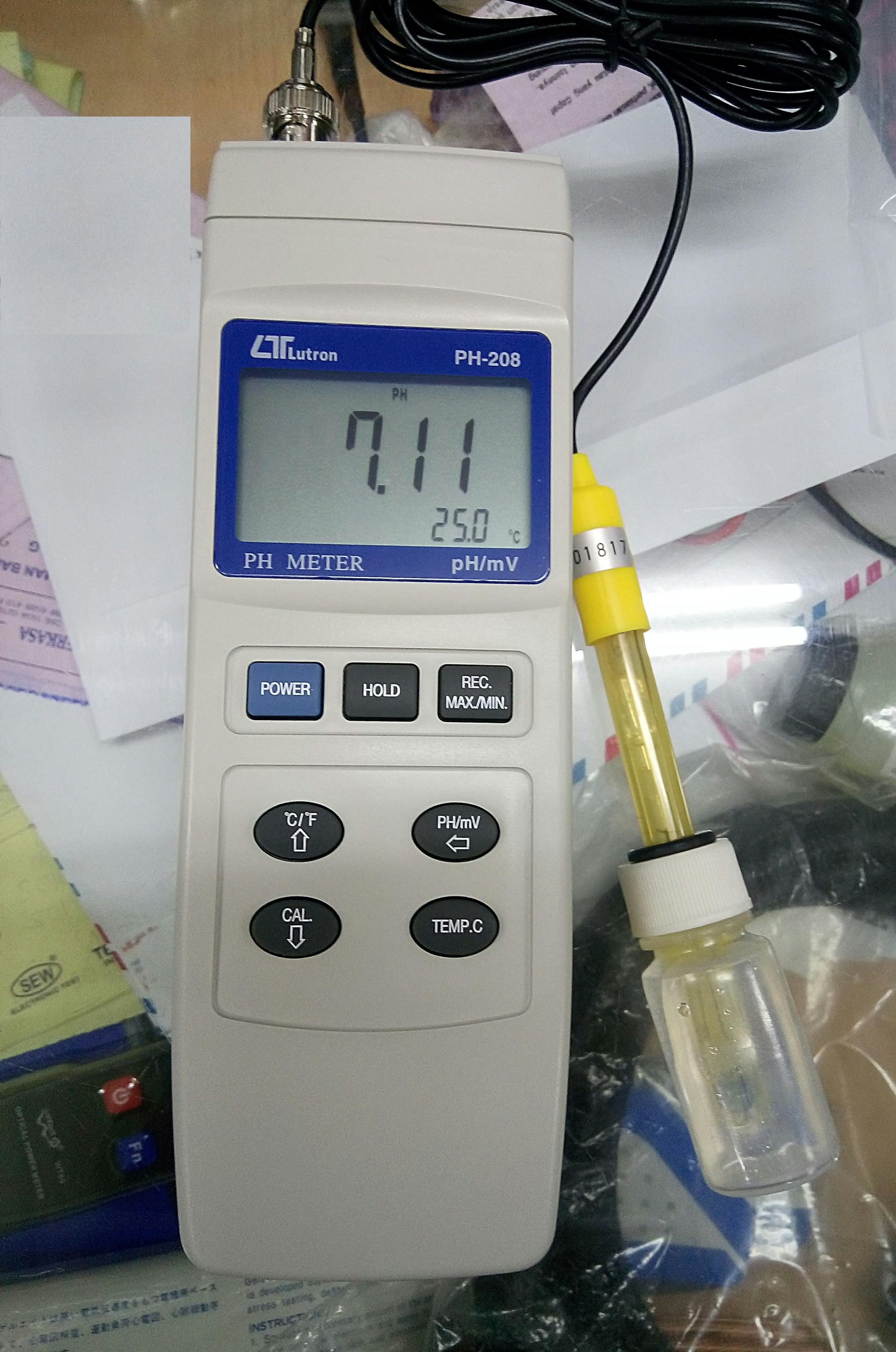 Sell WATER QUALITY TESTER PH METER PH 208 from Indonesia
