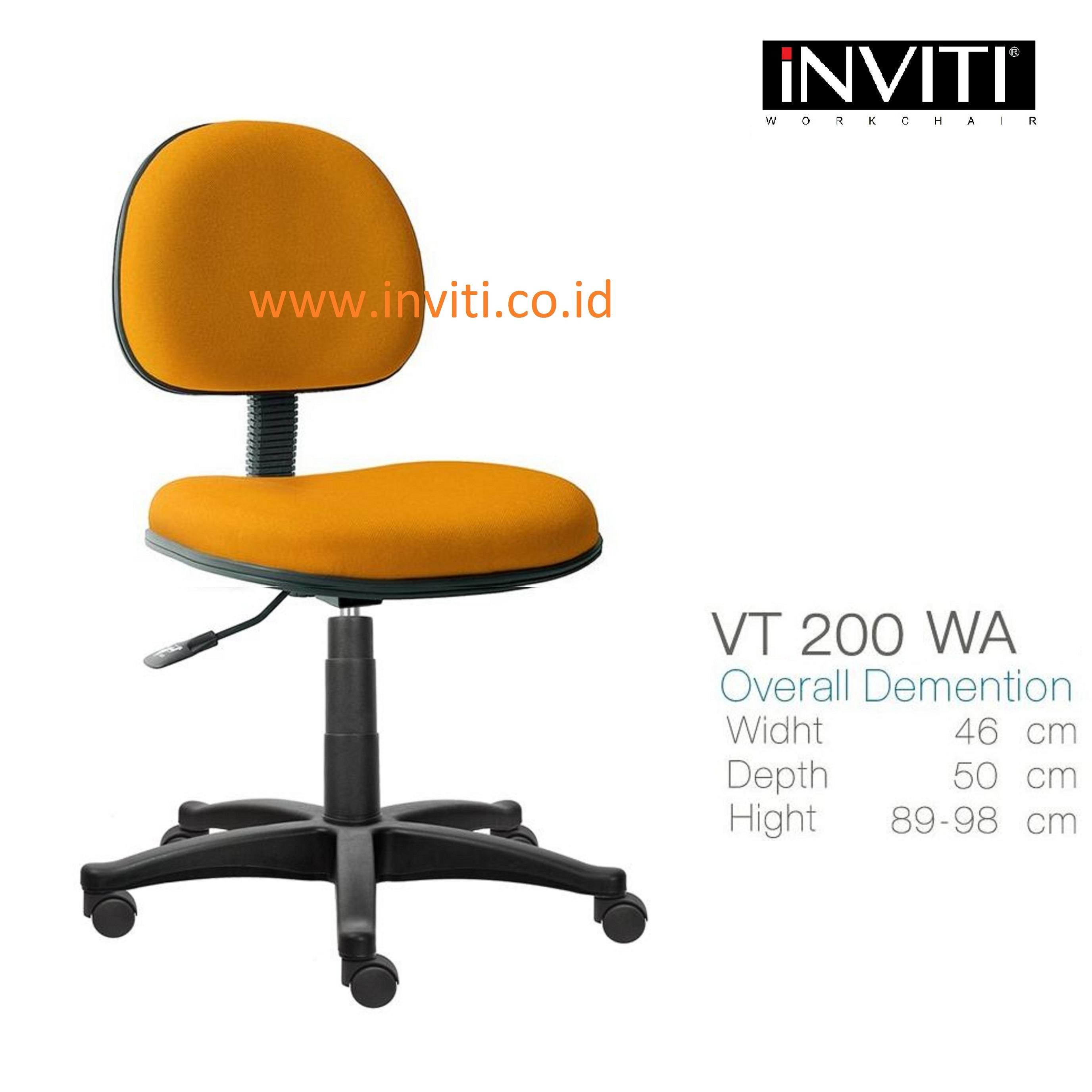 ergonomic chair jakarta unusual company sell secretary office inviti vt 200 wa from