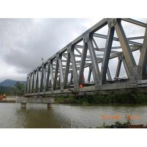 Jual Jembatan Girder Baja Konstruksi Jembatan Rangka Baja