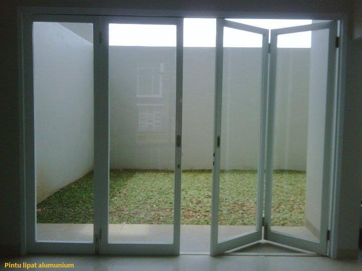 harga nok baja ringan jual pintu lipat kaca frameless murah jakarta oleh ...