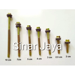 Baut Roofing Terbaik Sell Self Drilling Screw 12 X 30 Mm From Indonesia By Toko Sinar
