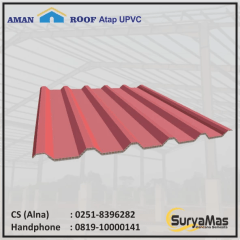 Baja Ringan Utama Truss Sell Roof Upvc Amanroof Eff 840 Mm Red From Indonesia By Suryamas