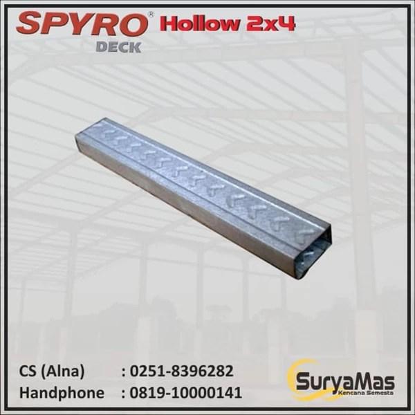 tebal reng baja ringan jual spyro hollow 2 x 4 0 25