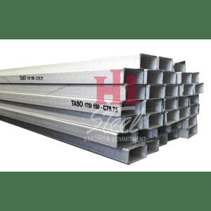 daftar harga baja ringan tasikmalaya jual besi kanal cnp galvalum murah bekasi oleh hi steel
