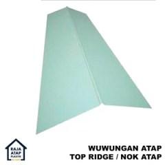 Harga Nok Baja Ringan Jual Atap Murah Kota Tangerang Oleh Distributor Plastik