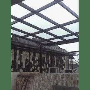 kanopi baja ringan atap kaca jual jasa pemasangan harga murah