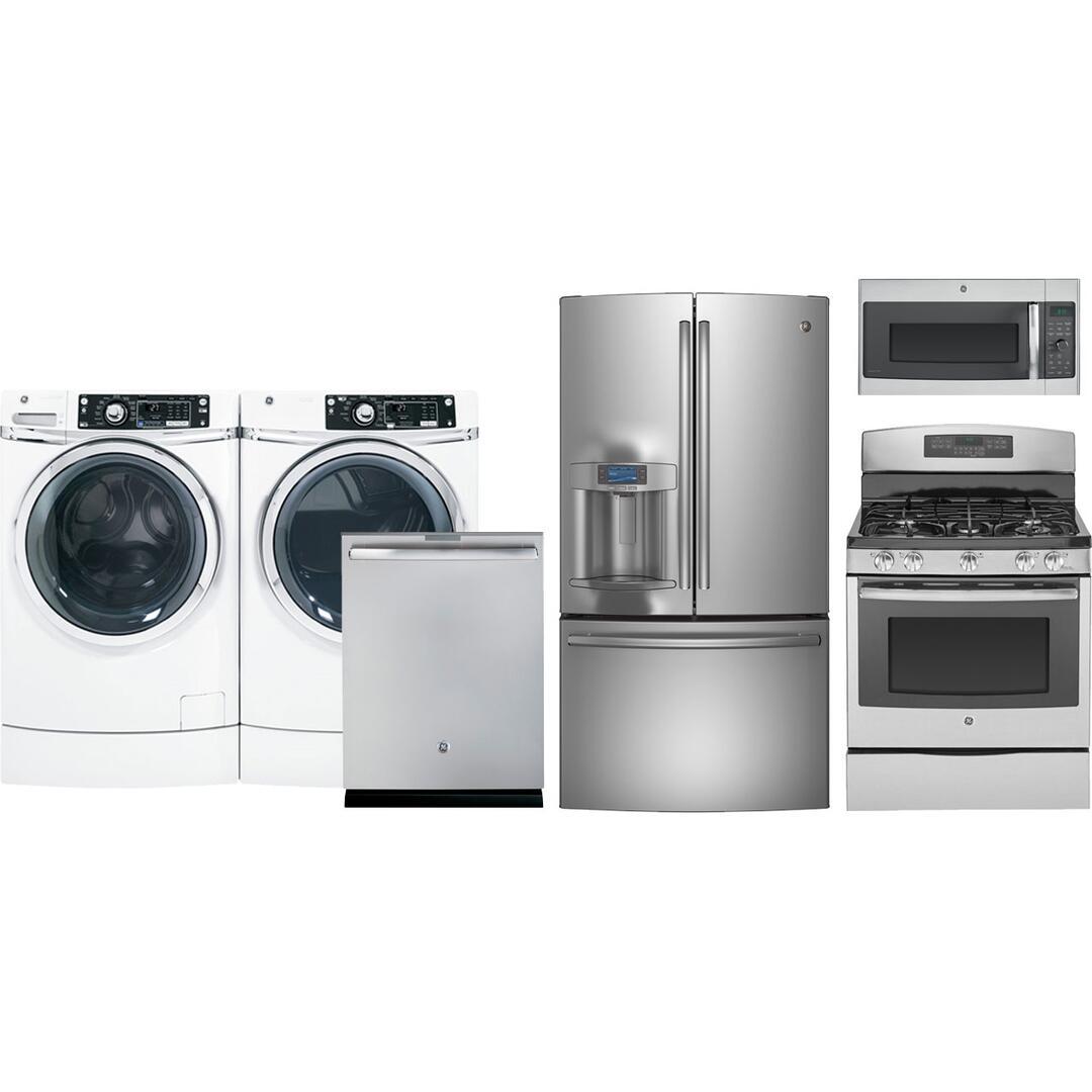ge kitchen appliance packages ceiling fan profile pfe28rshss6pckit1