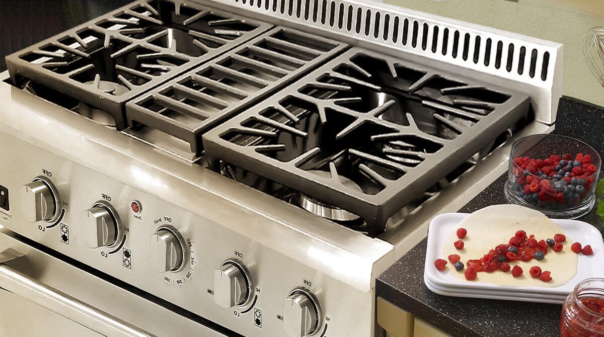 Thor Kitchen HRG3031U 30 Inch Gas Freestanding Range with Sealed Burner Cooktop 42 cu ft