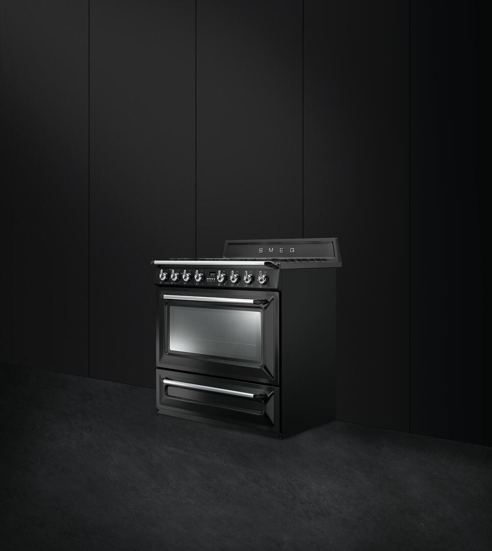 the honest kitchen coupon wellborn cabinets smeg tru36ggbl 36 inch victoria series glossy black gas ...